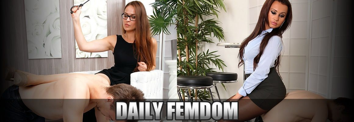 Mistress Nata punishes boyfriend using foot femdom | Daily Femdom